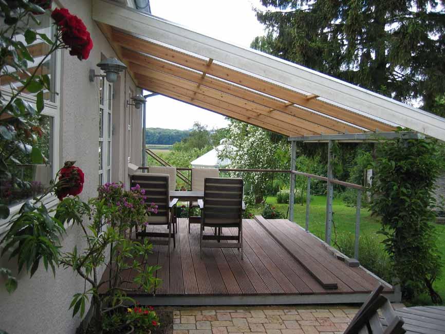 Tag til overdækket terrasse – Køkken overskabe